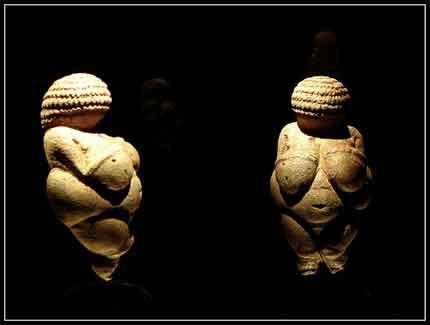 "La ""Venus de Willendorf"""
