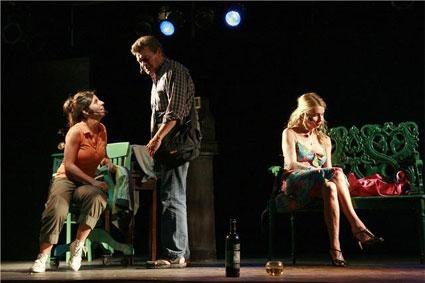 obra teatral en el Centro Cultural Plaza Defensa